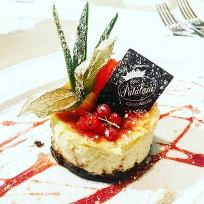 Dessert al piatto da Lucifero Restaurant & Cocktail a Viareggio