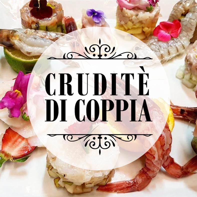 Cruditè di Coppia Il Gran Tirreno '900 da Lucifero Restaurant & Cocktail a Viareggio